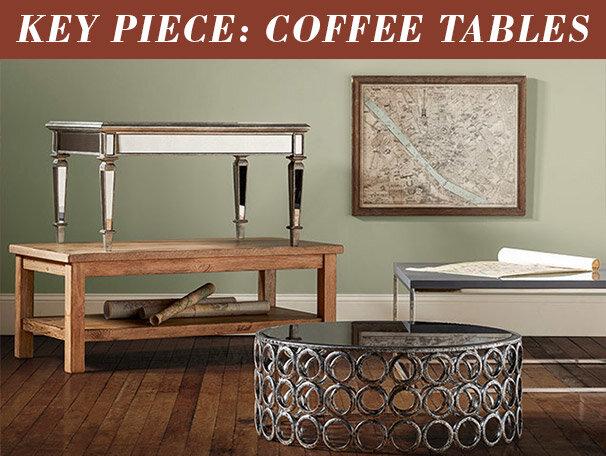 Key Piece: Coffee Tables