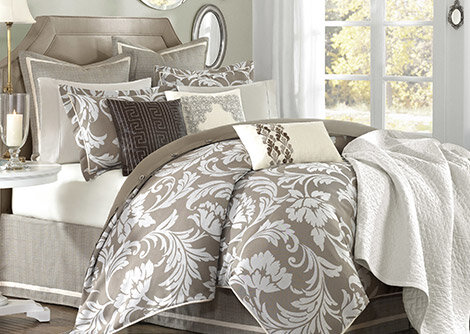 Soothing Hues: Bedding