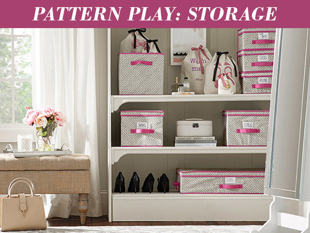 Pattern Play: Storage
